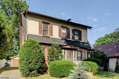 HILLSIDE Single Family Home For Sale: 818 Union Ave