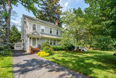 Cranford Twp. Single Family Home For Sale: 5 W Holly St