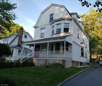 South Orange Village Twp. Single Family Home For Sale: 88 Riggs Pl