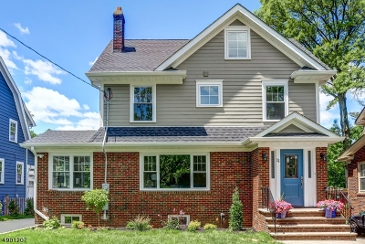 Maplewood Twp. Single Family Home For Sale: 11 Norfolk Ave