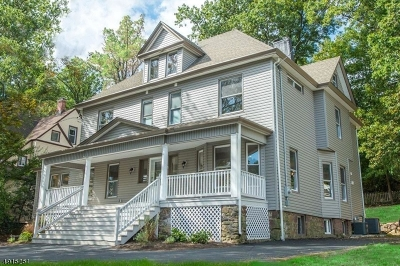 Essex County, Morris County, Union County Multi Family Home For Sale: 570 Upper Mountain Ave