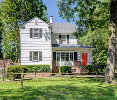 South Orange Village Twp. Single Family Home For Sale: 357 Clark St