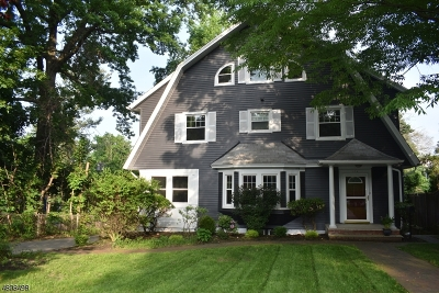 Montclair Twp. Single Family Home For Sale: 173 N Mountain Ave