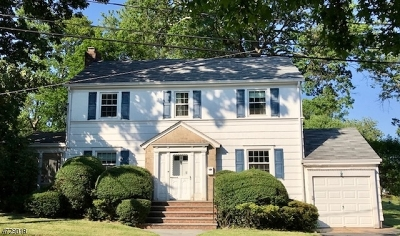 Millburn Twp. Single Family Home For Sale: 4 Bodwell Ter