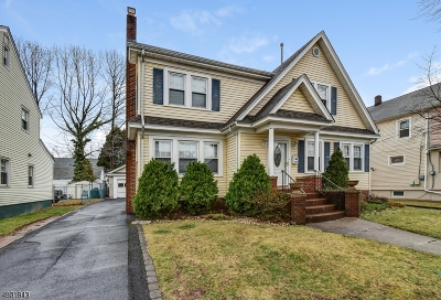 Roselle Park Boro Single Family Home For Sale: 337 Sheridan Ave