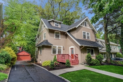 Montclair Twp. Single Family Home For Sale: 35 Macopin Ave