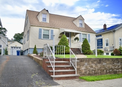 Cranford Twp. Single Family Home For Sale: 122 Hillcrest Ave