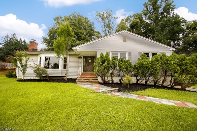 Livingston Twp. Single Family Home For Sale: 44 Wychwood Rd