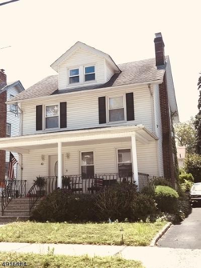 HILLSIDE Single Family Home For Sale: 40 Fairbanks St