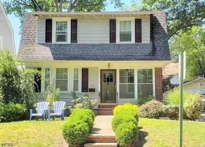South Orange Village Twp. Single Family Home For Sale: 714 Varsity Rd