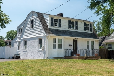 Roselle Boro Single Family Home For Sale: 149 W 5th Ave