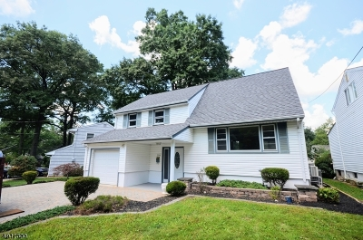 Scotch Plains Twp. Single Family Home For Sale: 2389 Westfield Ave