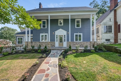 West Orange Twp. Single Family Home For Sale: 168 Mitchell St