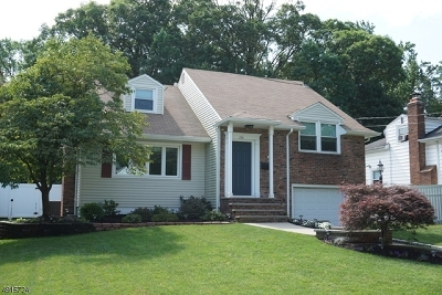 Fanwood Boro Single Family Home For Sale: 114 Coriell Ave