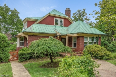 South Orange Village Twp. Single Family Home For Sale: 380 W. South Orange Ave.