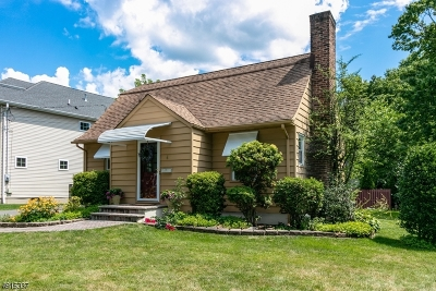 Cranford Twp. Single Family Home For Sale: 4 Algonquin Drive