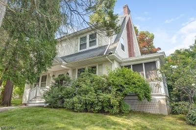 Millburn Twp. Single Family Home For Sale: 89 Pine St