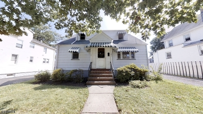 Roselle Park Boro Single Family Home For Sale: 141 Sheridan Ave