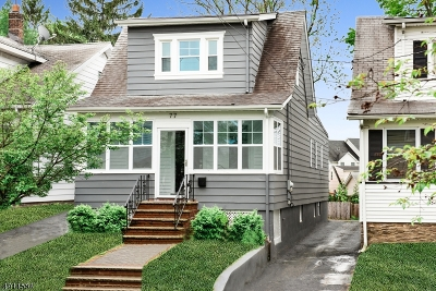 Maplewood Twp. Single Family Home For Sale: 77 Lexington Ave