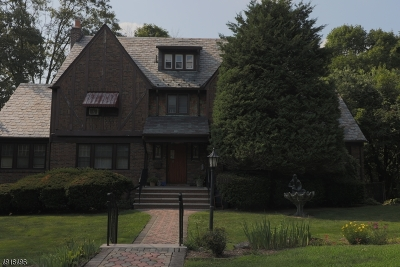 West Orange Twp. Single Family Home For Sale: 101 Edgewood Ave