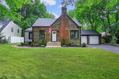 Scotch Plains Twp. Single Family Home For Sale: 1908 Lake Ave