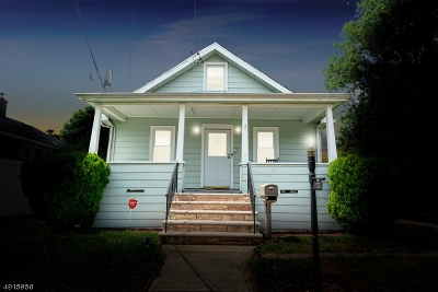 Rahway, Rahway City Single Family Home For Sale: 1930 Montgomery St