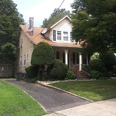 Maplewood Twp. Single Family Home For Sale: 7 Coolidge Rd