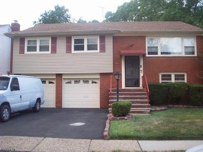 Hillside Twp. Single Family Home For Sale: 232 Oakland Ter