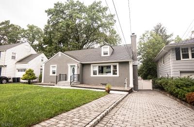 West Orange Twp. Single Family Home For Sale: 5 Lenox Ter