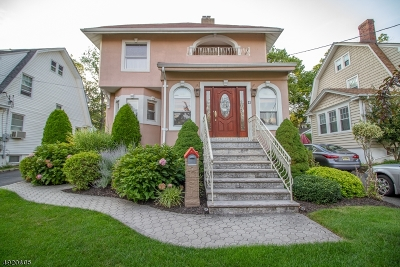 West Orange Twp. Single Family Home For Sale: 11 Yale Ter