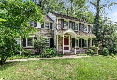Millburn Twp. Single Family Home For Sale: 297 Glen Ave