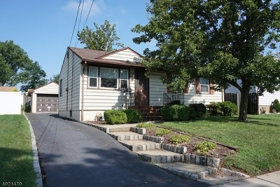 Clark Twp. Single Family Home For Sale: 70 Lincoln Blvd
