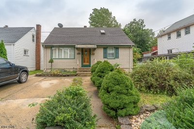 Rahway, Rahway City Single Family Home For Sale: 202 W Scott Ave