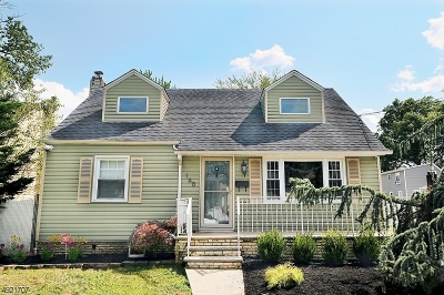 Rahway City Single Family Home For Sale: 160 Murray St