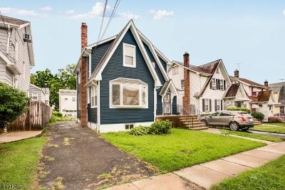 Hillside Twp. Single Family Home For Sale: 1439 Stanley Terrace