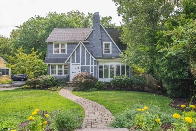 South Orange Village Twp. Single Family Home For Sale: 182 Mayhew Dr