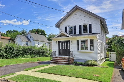 Cranford Twp. Single Family Home For Sale: 15 Retford Ave