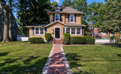 Cranford Twp. Single Family Home For Sale: 30 Spruce St
