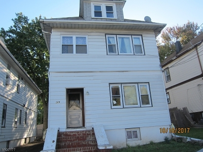 Clifton City NJ Multi Family Home For Sale: $225,150