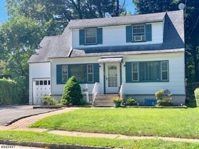 West Orange Twp. Single Family Home For Sale: 25 Hooper Ave