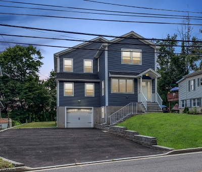 West Orange Twp. Single Family Home For Sale: 562 Mount Pleasant Ave