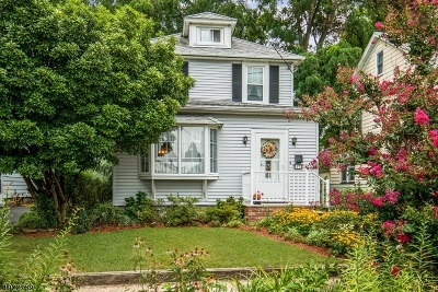 Kenilworth Boro Single Family Home For Sale: 17 N 23rd St