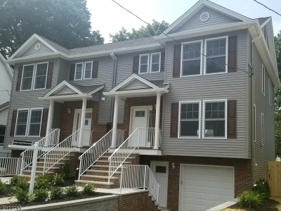 Essex County, Morris County, Union County Multi Family Home For Sale: 213-215 Lindsley Ave