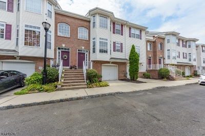 Rahway, Rahway City Condo/Townhouse For Sale: 1338 Genovese Ln