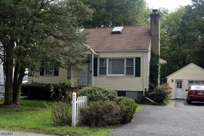 Denville Twp. Single Family Home For Sale: 12 Meadow St