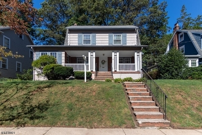 West Orange Twp. Single Family Home For Sale: 65 Cobane Ter