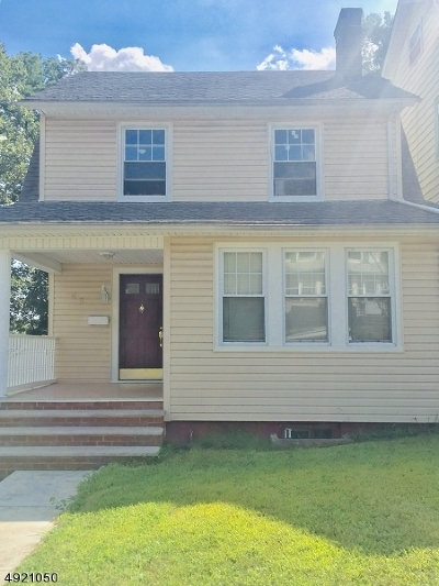 West Orange Twp. Single Family Home For Sale: 32 Condit Ter