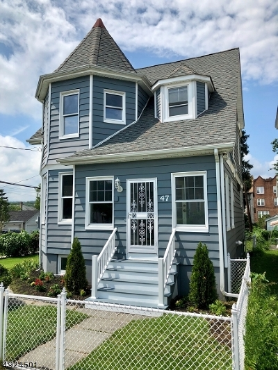 West Orange Twp. Single Family Home For Sale: 47 High Street