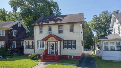 Roselle Boro Single Family Home For Sale: 139 W 8th Ave