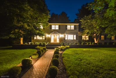 Berkeley Heights Twp. Single Family Home For Sale: 36 Beattie Way
